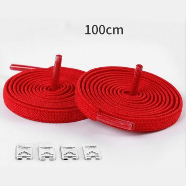 1pair 100cm No Tie Lazy Shoelaces Elastic Rubber Shoes Lace Sneaker Children Safe Elastic Lacets Elastique 2.jpg