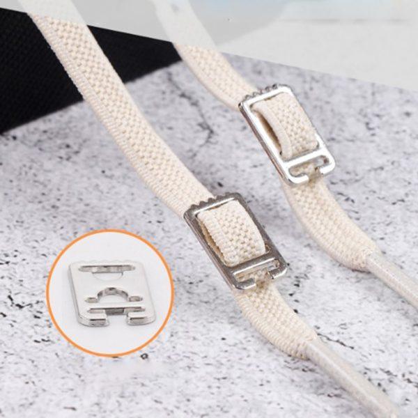 1pair 100cm No Tie Lazy Shoelaces Elastic Rubber Shoes Lace Sneaker Children Safe Elastic Lacets Elastique 4.jpg