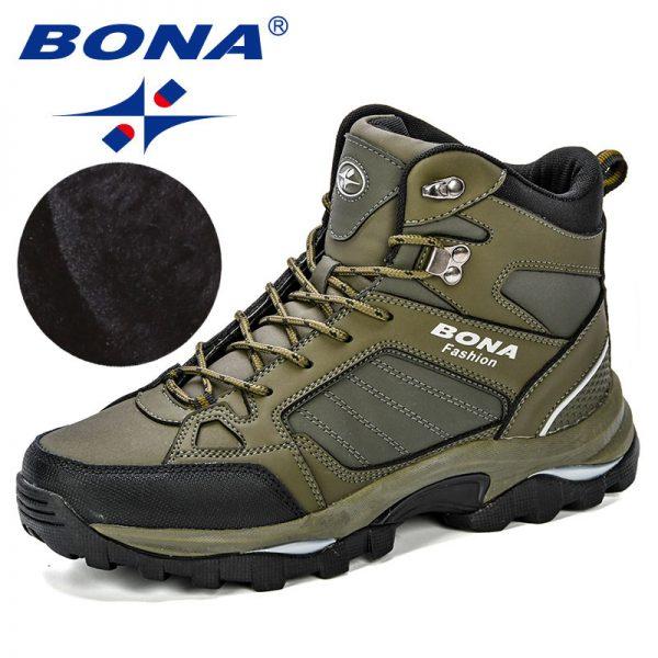Bona Men Boots Anti Skidding Leather Shoes Men Popular Comfy Spring Autumn Men Shoes Short Plush 2.jpg