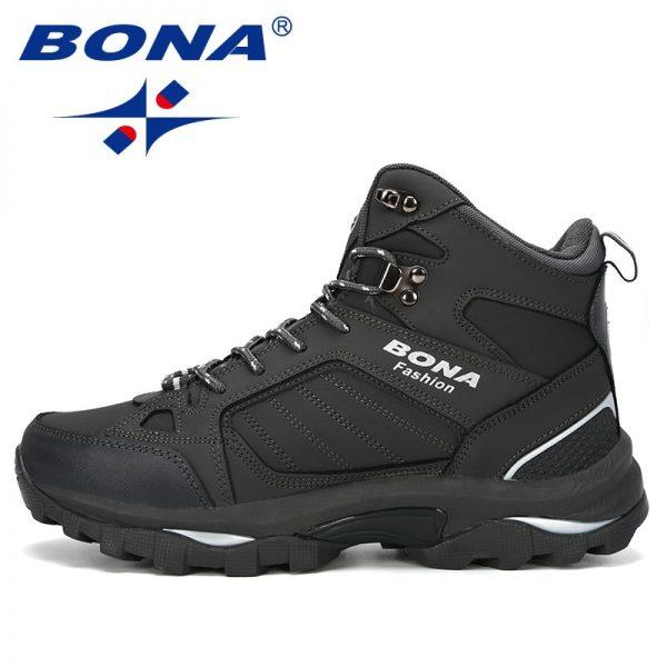 Bona Men Boots Anti Skidding Leather Shoes Men Popular Comfy Spring Autumn Men Shoes Short Plush 3.jpg