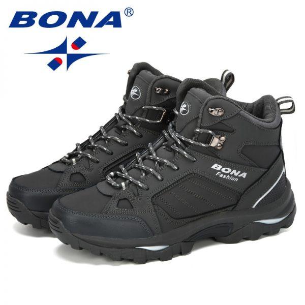 Bona Men Boots Anti Skidding Leather Shoes Men Popular Comfy Spring Autumn Men Shoes Short Plush 4.jpg