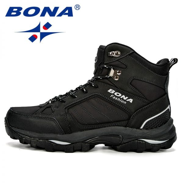 Bona Men Boots Anti Skidding Leather Shoes Men Popular Comfy Spring Autumn Men Shoes Short Plush 5.jpg
