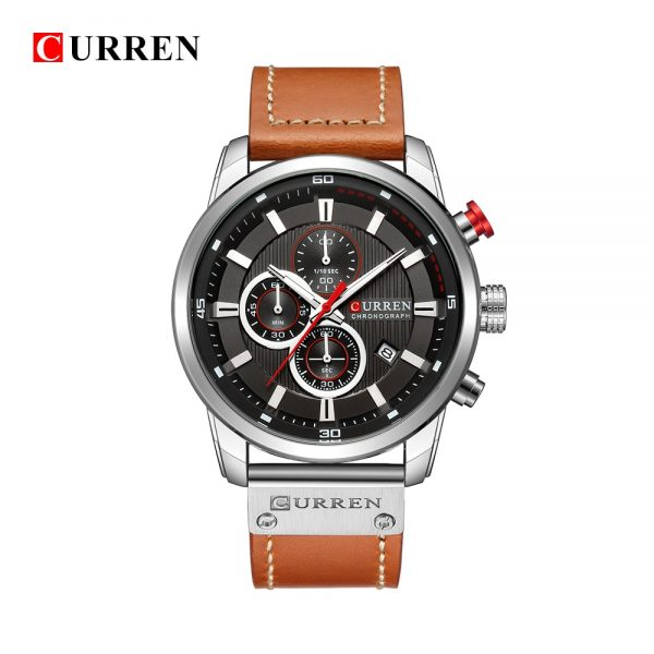 Curren Top Luxury Brand Men Analog Digital Leather Sports Watches Men S Army Military Watch Man 3.jpg