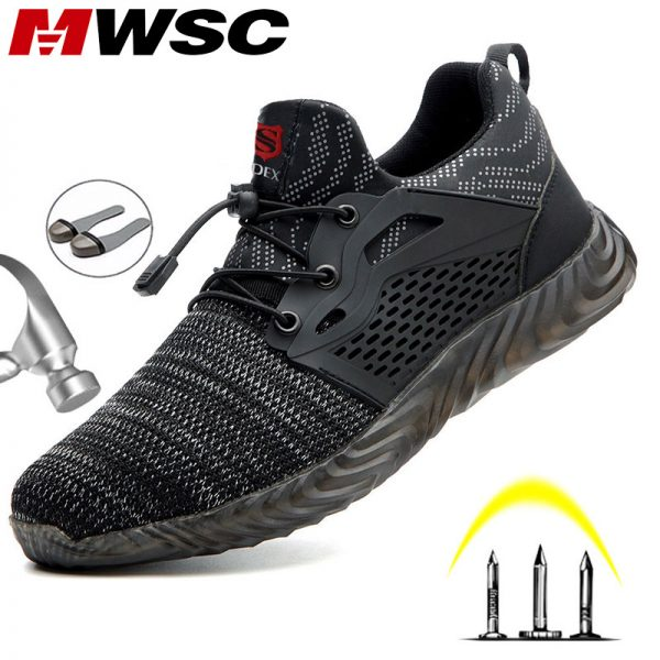 Mwsc Safety Work Shoes Boots For Men Light Weight Steel Toe Work Boots Male Anti Smashing.jpg