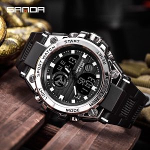 Sanda Sport Wrist Watch Men Watches Military Army Famous Brand Wristwatch Dual Display Male Watch For 1.jpg