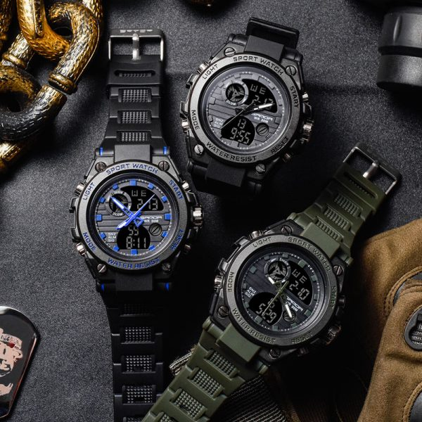 Sanda Sport Wrist Watch Men Watches Military Army Famous Brand Wristwatch Dual Display Male Watch For 3.jpg