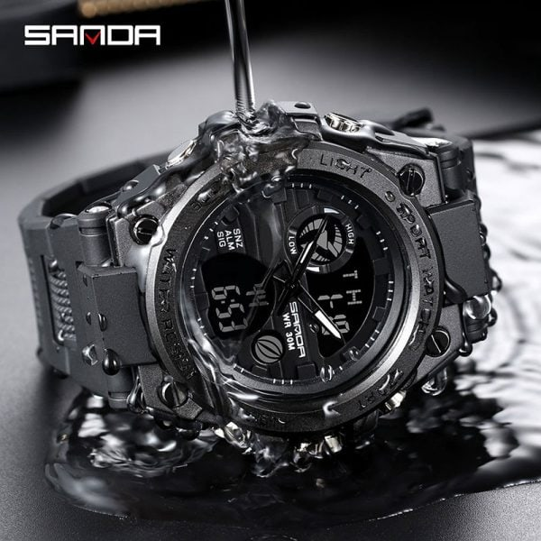 Sanda Sport Wrist Watch Men Watches Military Army Famous Brand Wristwatch Dual Display Male Watch For 4.jpg