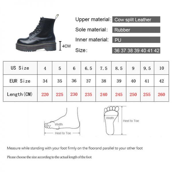 Smile Circle Size 35 42 Flat Platform Boots Women Shoes Autumn Winter Fur Fashion Round Toe 4.jpg
