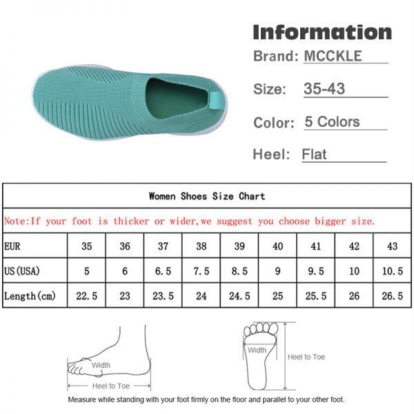Women Sneaker Air Mesh Soft Female Knitted Vulcanized Shoes Casual Slip On Ladies Flat Shoes Walking 5.jpg